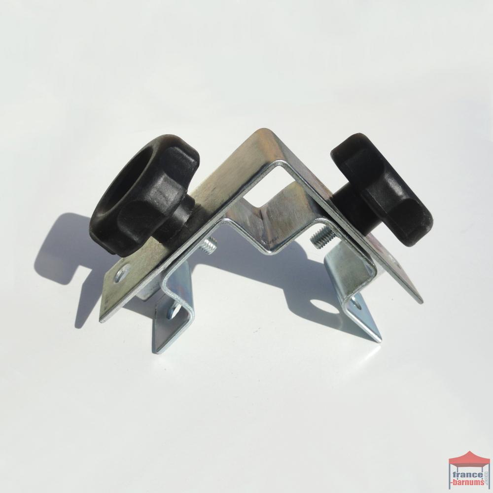 Connecteur d 39 angle pour demi mur de tonnelle pliante acier - Assembler deux planches angle droit ...