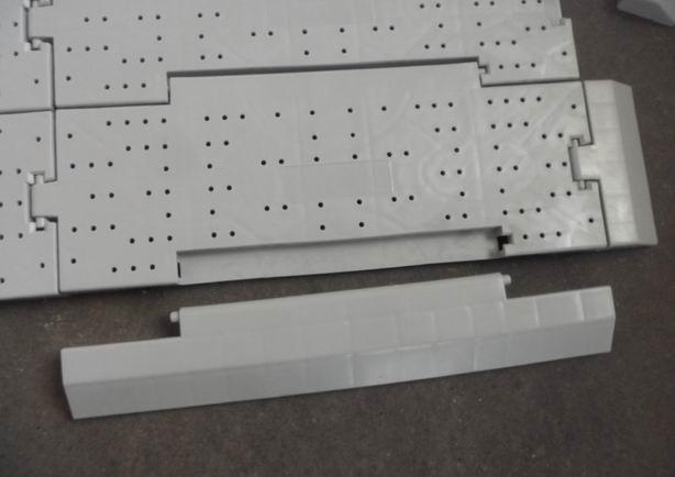 Dalles de contour de 30cm pour sol modulable plancher clipsable - Sols vinyles clipsables ...