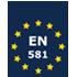 Le seul mobilier pliant du marché répondant à la norme de sécurité européenne EN 581 qui fixe les exigences générales de sécurité des sièges et tables d'extérieur à usages domestique, collectif et de camping