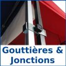 Gouttières et jonctions pour barnum pliant france-barnums.com