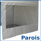 Parois latérales / murs / côtés pour barnums pliants france-barnums.com