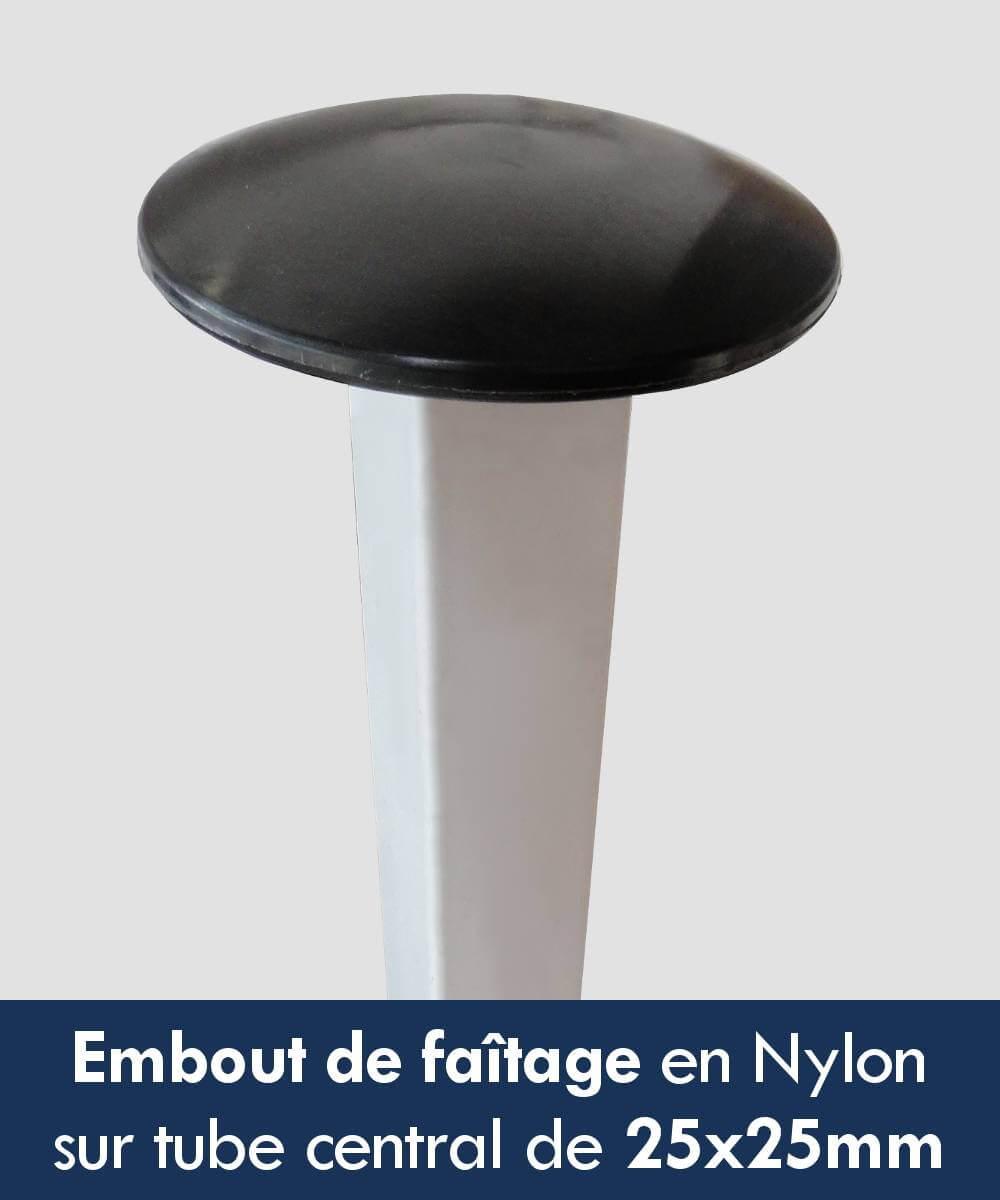 Normes en acier début de nylon