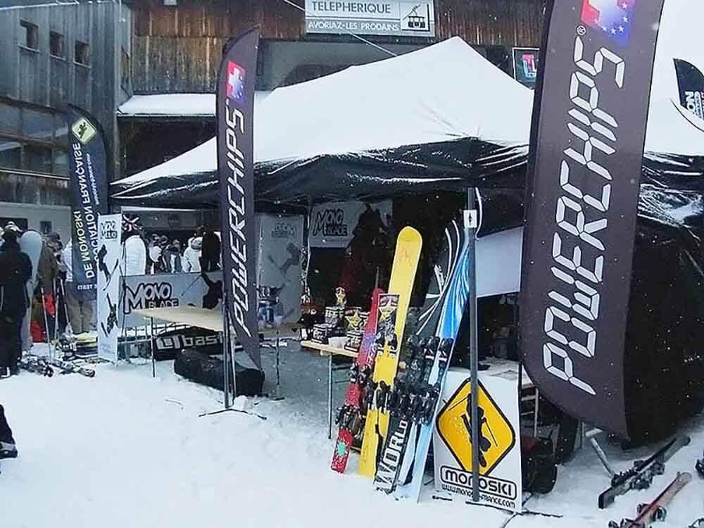 Barnum Acier Semi Pro 3x6m stand de materiel sport d hiver