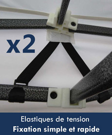 sangles de tension fixation simple et rapide