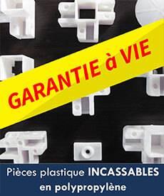 pièces plastique incassables en polypropylène