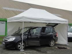 Tente pliante Alu Pro 55 M2 de 4mx8m France-Barnums