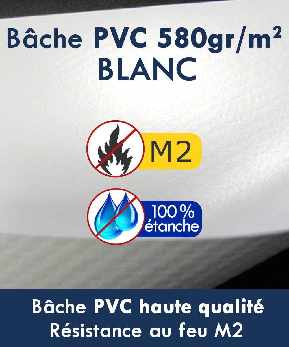 Barnum pliant haut de gamme 2m x 3m for Bache pvc etanche