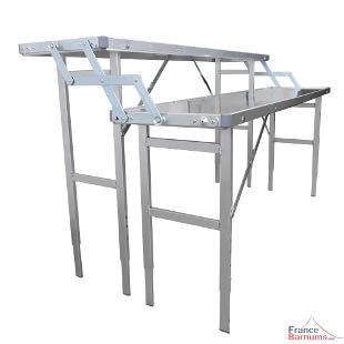 Table présentoir pour marché ou buffet