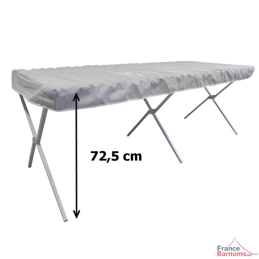 Table pr sentoir de 2m pour march s lit de camp avec for Canadian tire table pliante