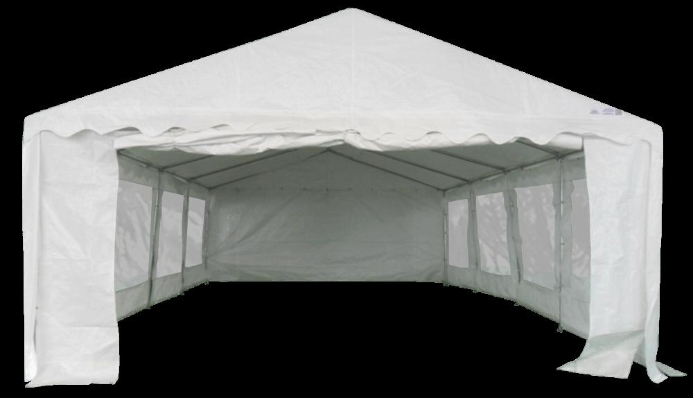 Façade entrée grande porte de notre tente de réception France-Barnums.com