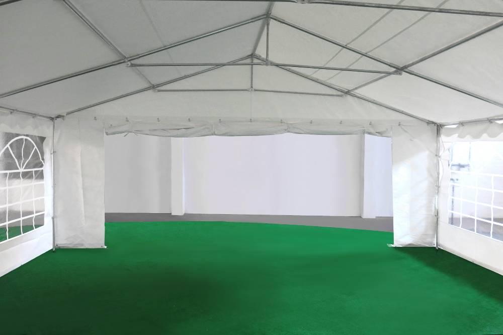 Porte de 1,50m sur un des pignons de notre tente de réception événementielle de 6x10m