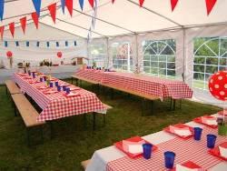 Tente de réception - Chapiteau de festivités - Mariage - Evenementiel 4mx10m France-Barnums