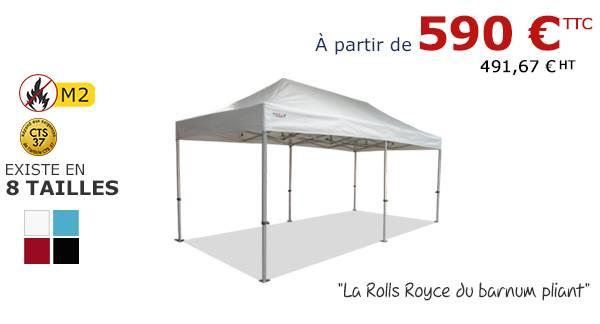 Stand pliant alu pro à partir de 590€ sur sur France-Barnums.com