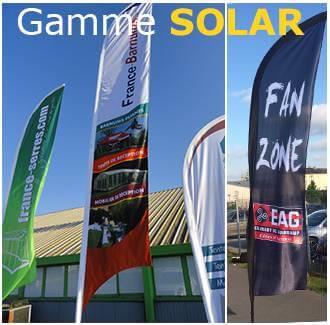 Oriflamme gamme Solar personnalisé
