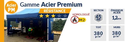 Barnums Pliants - Stands Acier Premium M2