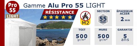 Barnum Pliant - Stand Aluminium Pro 55 LIGHT M2