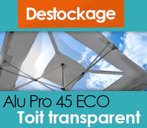 Barnum pliant - Tente pliante Alu Pro 45 ECO avec TOIT FENETRES