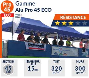 Barnum Pliant - Tente pliante Alu Pro 45 ECO