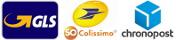 Envoi de votre commande par les Transports GLS, Colissimo et Chronopost sur le site france-barnums.com