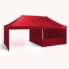 Barnum Chapiteau Pliant rouge avec demi parois latérales