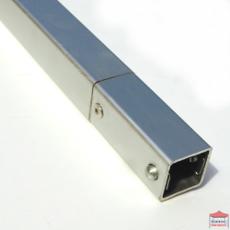 Barre de support pour demi paroi de 3m ou barre de renfort de structure pour tonnelle pliante