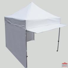 Cet auvent en 100% polyester enduit PVC 380gr/m² est adaptable sur l'ensemble de notre gamme de tente pliante de section hexagonale 45mm