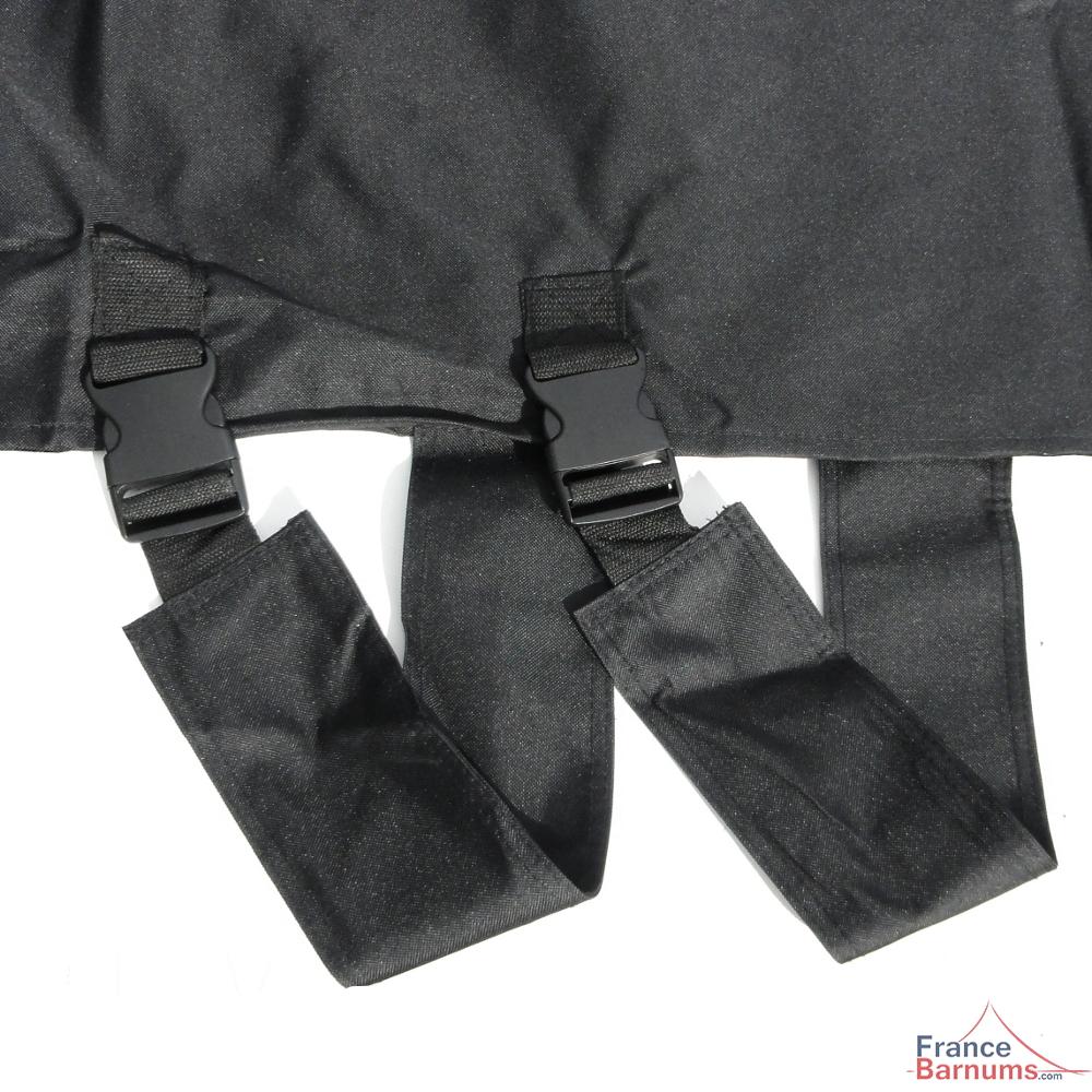Boucles à attache rapide sur la housse de transport pour barnum Alu Pro 45 France-Barnums.com