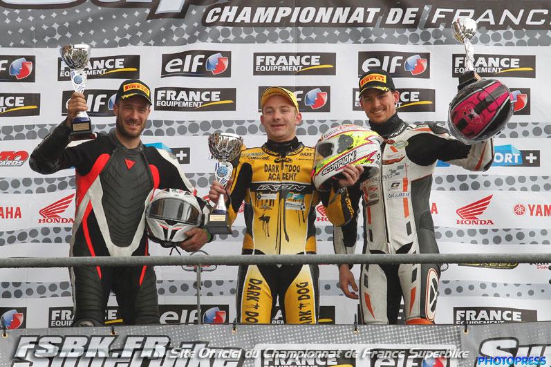 Lucas Mahias victorieux aux premières épreuves du Supersport 2014
