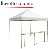 tables comptoirs pliantes