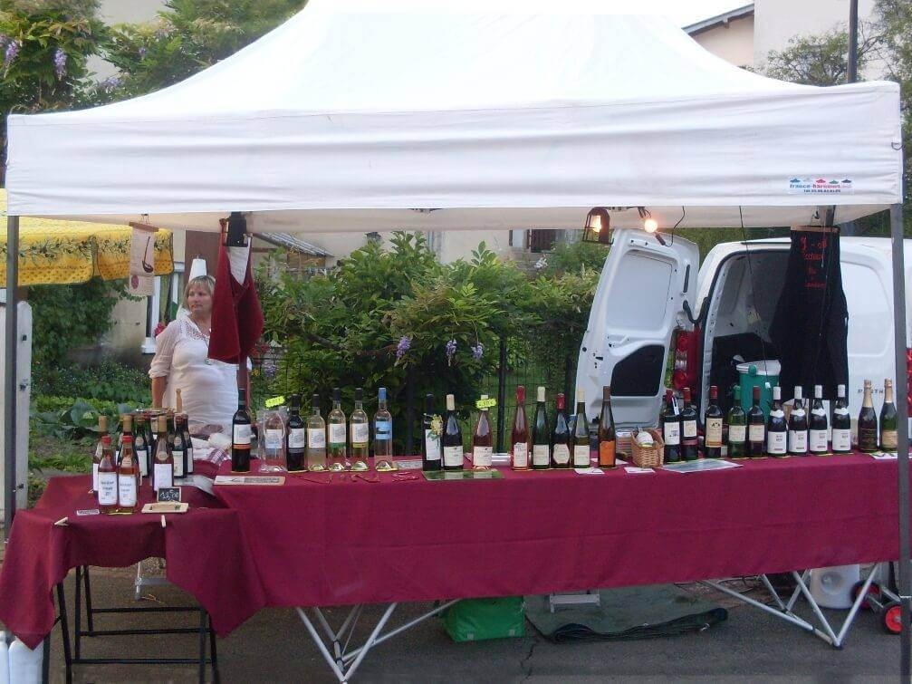 stand marché 2x3m