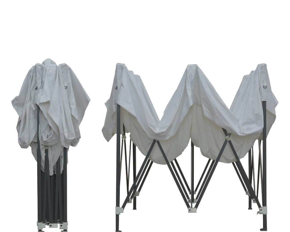 Barnum 3x3m plié et semi-plié Acier Semi-Pro France-Barnums