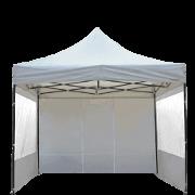 Barnum 3x3m Acier Semi Pro France-Barnums ouvert fenetre