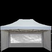 Barnum 3x4,5m Acier Semi Pro France-Barnums ouvert fenetre