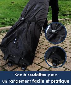 sac à roulettes pour un rangement facile et pratique