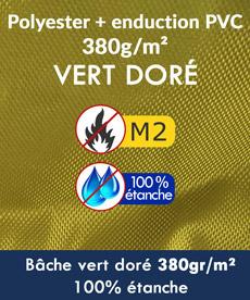 Notre tente pliante Alu pro à bâche certifée M2 et 100% étanche