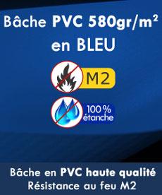 Notre tente pliante Alu pro 55 à une bâche épaisse en PVC 580g/m² cetifiée M1 et 100% étanche