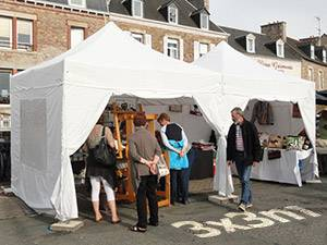 3x3 stand marché
