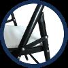 chaises de réception faciles à monter