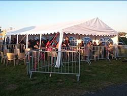 Tente de réception - Chapiteau de festivités - Mariage - Evenementiel 6mx14m France-Barnums