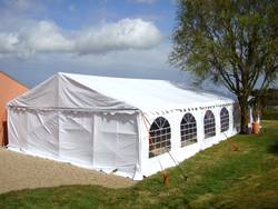 Tente de réception - Chapiteau de festivités - Mariage - Evenementiel 7mx15m France-Barnums