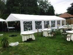 Tente de réception - Chapiteau de festivités - Mariage - Evenementiel 6mx12m France-Barnums