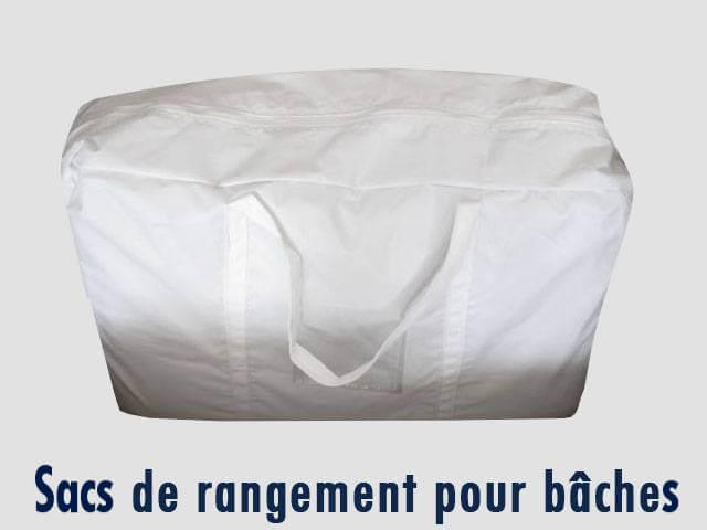 sacs de rangement pour bâche de toit et bâches latérales