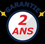 Garantie 2 ans sur nos barnums pliants Acier Premium