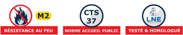 barnum pliant norme CTS37, M2